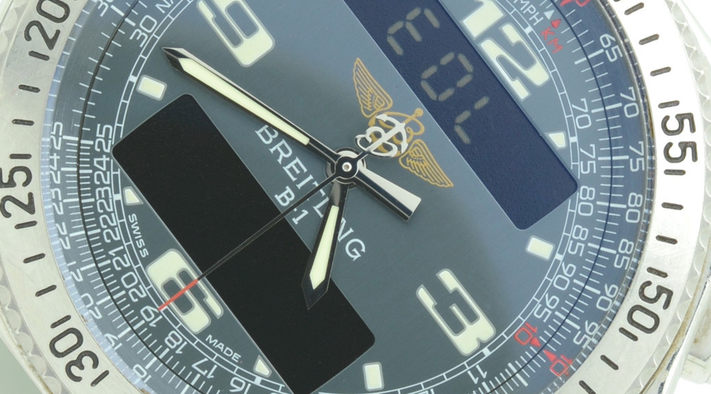 Breitling B1 Hand calibration setting