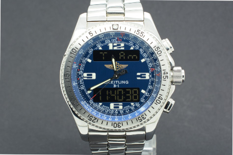 Breitling B1 Setting the time